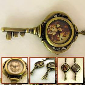 ceas cheita, pandantiv sau breloc, personalizat pe cadran cu poze