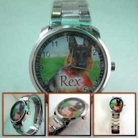 ceas sport personalizat cu poze, embleme