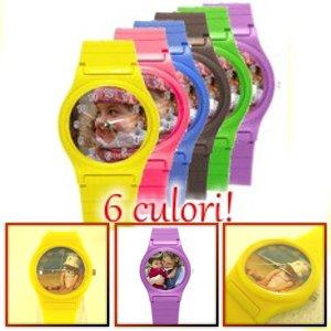 ceasuri de mana mici pentru copii, colorate, personalizate