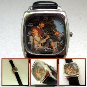 ceas de mana patrat personalizat