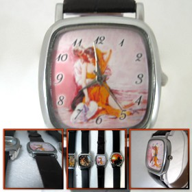 ceas de mana patrat mic personalizat