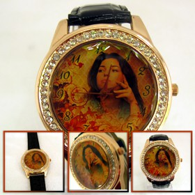 ceasuri de mana personalizate cu cristale, luxos