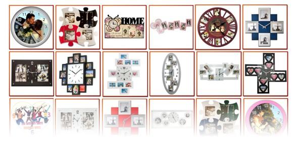 ceasuri de perete personalizate