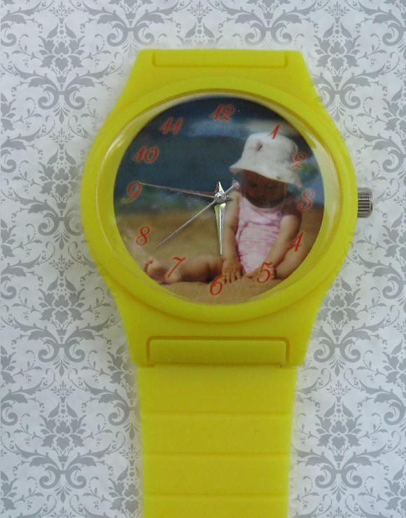 ceasuri de mana pentru copii, personalizate cu poza