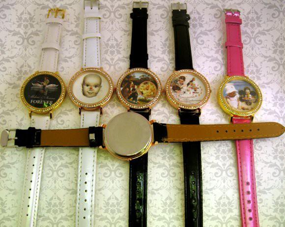 ceasuri de mana femei, personalizate cu poze