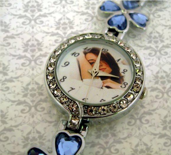 ceasuri dama, mic elegant, personalizat cu poze