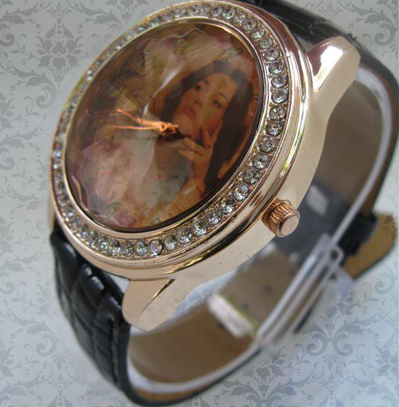 ceasuri de mana cu cristale, personalziate