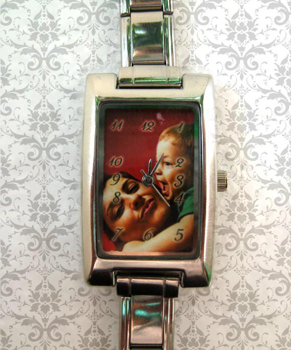 ceas dama dreptunghi personalizat cu poza