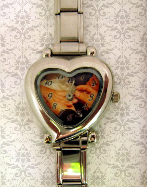 ceas inima personalizat cu poza