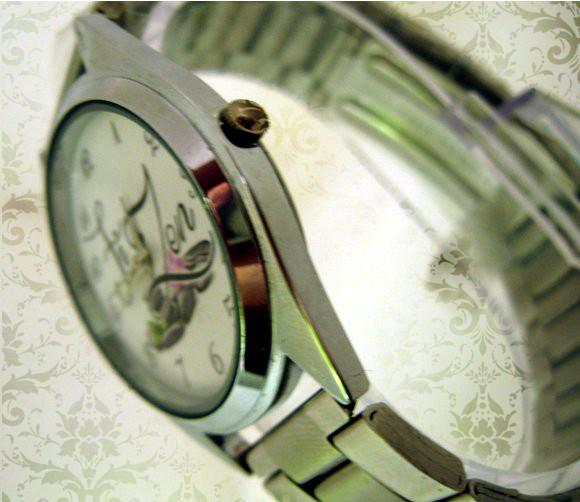 ceasuri de mana clasic rotund, personalizat, curea metalica