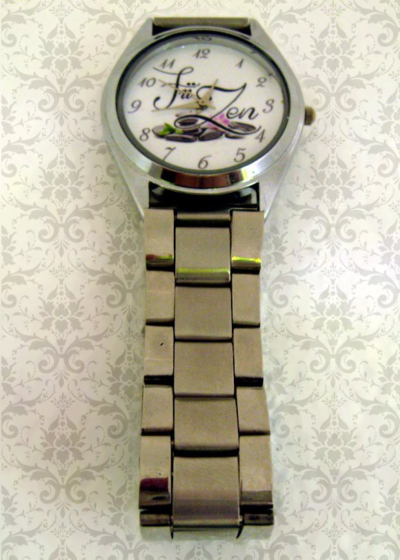 ceas curea metalica personalizat cu poze